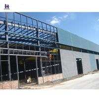 Buy cheap prefab small high rise structure steel construction warehouse from wholesalers