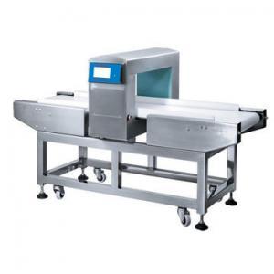 25 Meter / Mins Conveyor Belt Metal Detector For Food , Plastic , Chemical Industry Manufactures