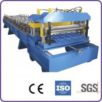 Hydraulic Automatic Cutting 45# Forge Steel Roof Tile Roll Forming Machine Manufactures