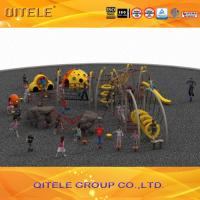 Quality Galvanized Steel Children's Playground Equipment , Outdoor Climbing Structures for sale