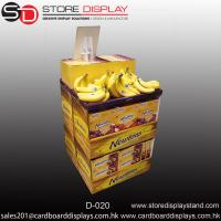 Buy cheap Banana POP fruits Corrugated dumpbin unit display box from wholesalers