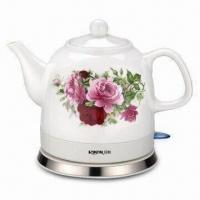 China 1.2L Ceramic Electric Kettle with LCD Control Panel on sale