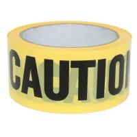 Quality Yellow PE Warning Tape(Barrier Caution Tape),Red DANGER Tape Caution Tape Roll 3-Inch Non-Adhesive Sharp Red Color Warni for sale