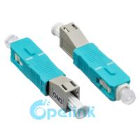 China LC-SC Female To Male Fiber Optic Adapter PC Mating Type For Optical Fiber LAN on sale