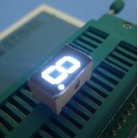 Ultra White 3 Inch 1 Digit 7 Segment Display High Performance Manufactures