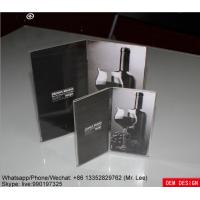 Hot Bend Clear Insert Paper Acrylic Photo Frames Customized Size Manufactures