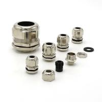 Water Proof Brass Cable Gland Strengthened IP68 Industrial Cable Glands Fire Resistance Manufactures