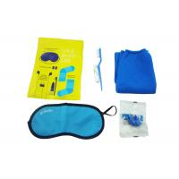 Original Airline Amenity Kits / Five Contents Pack In Fresco Bag Travel Set Manufactures