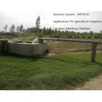 China Fanless Solar Panel Water Pump Kits , Solar Powered Agricultural Water Pumping System on sale