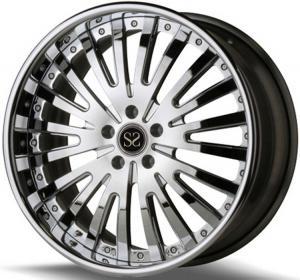 Buy cheap Custom 20 Inch TUV Rims For Maserati Ghibli 6061-T6 Rims In Brush from wholesalers