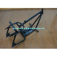 Chassis Rigid Motorcycle Frame With Syphon , Engine Mounting Plate Manufactures