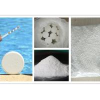 China TCCA Swimming Pool Cleaning Chemicals , 90% Tri Chloro Isocyanuric Acid on sale