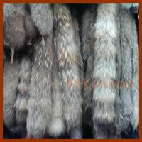 China Racoon fur skin wholesale