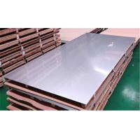 China ASTM 304 Stainless Steel Sheet Metal , Hot Rolled Plate Steel Brushed Finish on sale