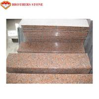 China maple leaf G562 red granite flooring design and stairs Manufactures