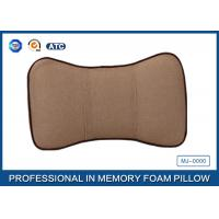Washable Travel Memory Foam Car Neck Pillow / Car Seat Neck Rest Pillow Manufactures