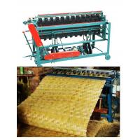 bamboo building templates weaving machine, bamboo mat no thread weaving machine, bamboo panel weaving machine Manufactures