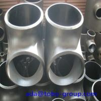 Stainless Steel Pipe Tee A403 Wp304L Straight Tee Asme B16.9 Size 1/2 - 60 inch Manufactures