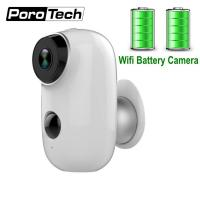2019 Newest Rechargeable Battery Camera A3 720P Waterproof Outdoor Indoor Wifi IP Camera 2 Way Audio Baby Monitor Camera