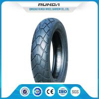 8PR Durable Motor Cycle Tires , Front Motorcycle Tire Large Friction 290KPA Manufactures