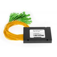 Buy cheap 1x16 PLC Fiber Optic Splitter 1 in 16 out ABS Box Type with SC / APC Connector from wholesalers