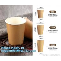 China Custom Logo Printing Disposable Single Wall Small Tasting Paper Cup Wholesale,12Oz Custom Printed Coffee Paper Cups With on sale