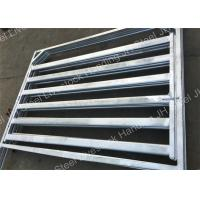Easy To Clean Metal Livestock Cattle Yard Panels Flat Farm panel Manufactures