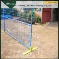 Carbon Steel Canada Temporary Fence , Outdoor Temporary Security Fencing Manufactures