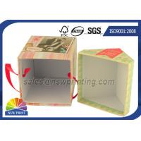 Personalized House Shaped Rigid Decorative Paper Boxes Presentation Box With