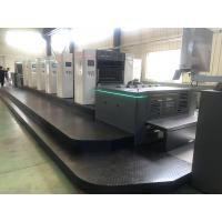 High Accuracy Offset Label Printing Machine / Label Printing Press 30000kg Manufactures