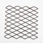 """1-1/2"""" #6 Carbon Steel Expanded Metal Mesh Standard For Speaker Grilles Manufactures"""