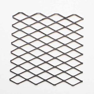 China 1-1/2 #6 Carbon Steel Expanded Metal Mesh Standard For Speaker Grilles on sale