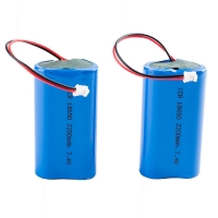 Rechargeable Panasonic 7.4V 2200mAh 18650 Lithium Battery Manufactures