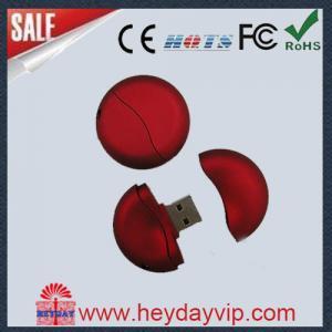 Round 16GB Custom USB Thumb Drive Manufactures