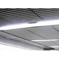 White Aluminum Drop Down Ceiling Tiles Decorative Sound Absorbing Manufactures