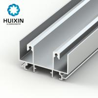 Foshan aluminium profile sliding door aluminum profile for sliding window Manufactures