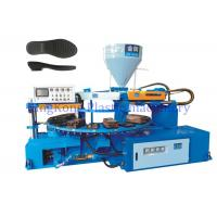 Mono Color Outsole Shoe Making Machine With 20 PCS Mold Station For Sneaker / Footwear Manufactures