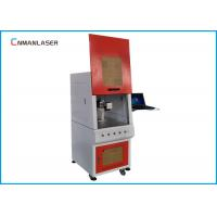 Big Size Enclosed Metal Laser Marking Machine , Fiber Optic Laser Engraving Machine Manufactures