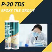 China Stain Proof Kitchen Floor Tile Grout 400ml/Pcs Plastic Doubule Tube Packing on sale