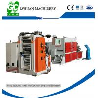 Thin PTFE Extrusion Machine Long Lifespan No Heating Effect Automatic Control Manufactures