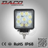 China 27W led work light, IP67 led work light, super bright led work light on sale