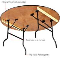 Hotel / Restaurant Plywood Folding Tables , Waterproof Solid Plywood Tables For Rental Manufactures