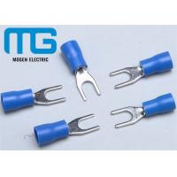 SV 1.25-4 copper Insulated spade female terminals Fork-shaped Cable end terminals Manufactures