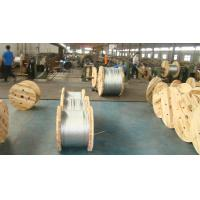 ACSR Use Galvanized Steel Cable Wire Rope 1.0-4.8mm Gauge With Adhesive And Flexible Manufactures