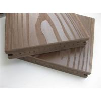 Outside Solid Pvc Vinyl Flooring Boards with Coffee , ASA Surface Coextruded Manufactures