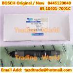 BOSCH Original /New Injector 0445120040 / 65.10401-7001C for DAEWOO DOOSAN Manufactures