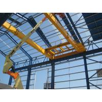 Yellow European Standard Double Girder Overhead Cranes For Automobiles Manufactures