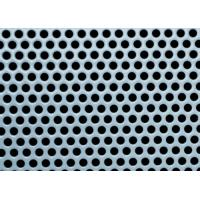 China 1.2m Mesh Width Small Hole Aluminum Sheet , Light Perforated Aluminum Panel on sale