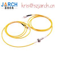 1 Channel Fiber Optic Rotary Joints 23dBm Optical Power Handling FORJ Of Slip Rings Manufactures
