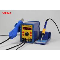 Electronic PCB 2 In 1 Hot Air Solder Station With 3 Nozzles portable soldering station Manufactures